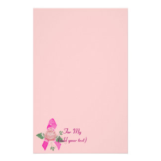Breast Cancer Support Stationery
