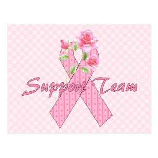 Breast Cancer Support Team Postcard