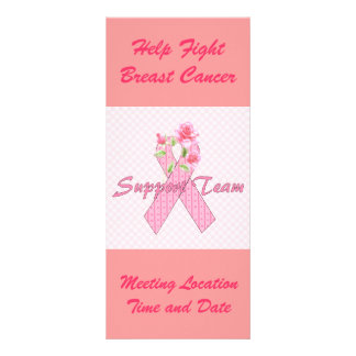 Breast Cancer Support Team Rack Card