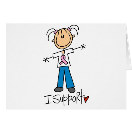 Breast Cancer Support Tshirts and Gifts Card