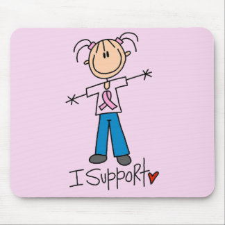 Breast Cancer Support Tshirts and Gifts Mouse Pad
