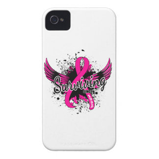 Breast Cancer Surviving Since 1992 iPhone 4 Cases