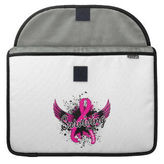 Breast Cancer Surviving Since 1992 Sleeve For MacBooks