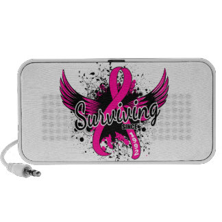 Breast Cancer Surviving Since 1992 iPod Speakers
