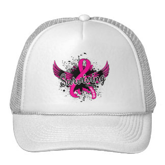 Breast Cancer Surviving Since 1995 Hats