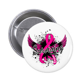 Breast Cancer Surviving Since 1996 Pin