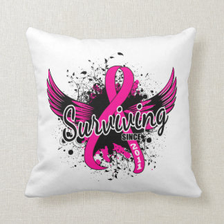 Breast Cancer Surviving Since 2011 Pillow