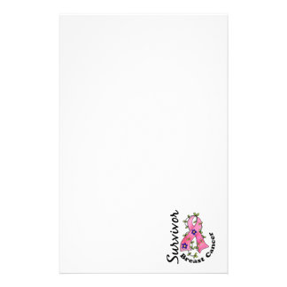 Breast Cancer Survivor 15 Personalized Stationery