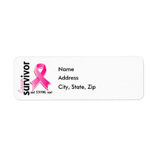 Breast Cancer Survivor 19 Label