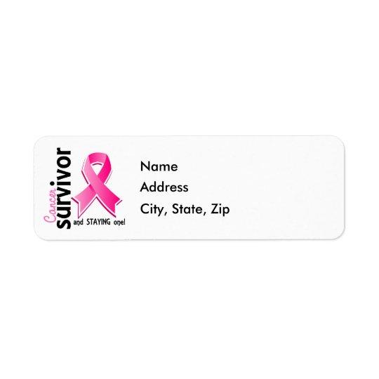 Breast Cancer Survivor 19 Label