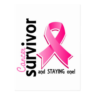 Breast Cancer Survivor 19 Postcard