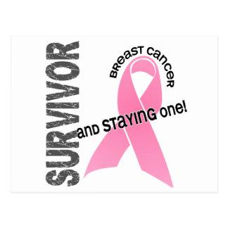 BREAST CANCER Survivor 1 Postcard