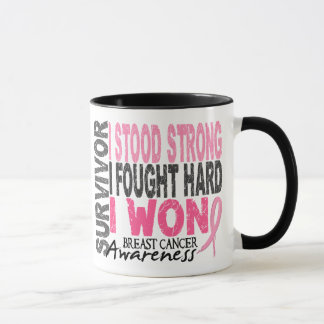 Breast Cancer Survivor 4 Mug