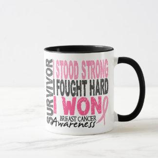 Breast Cancer Survivor 4 Mug