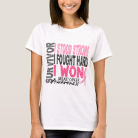 Breast Cancer Survivor 4 T-Shirt