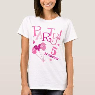 Breast Cancer Survivor 5 Year T-Shirt