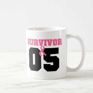 Breast Cancer Survivor 5 Years Mugs