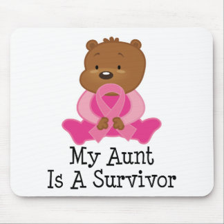 Breast Cancer Survivor Aunt Mouse Pad