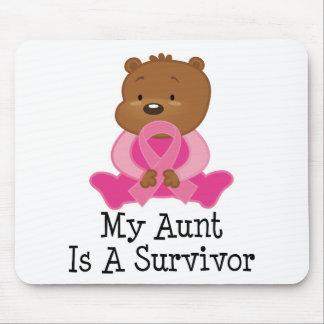 Breast Cancer Survivor Aunt Mouse Pad