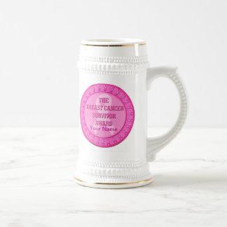 Breast Cancer Survivor Award Beer Stein