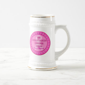 Breast Cancer Survivor Award Beer Stein