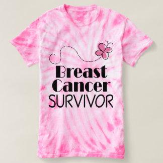 Breast Cancer Survivor Butterfly Tshirt