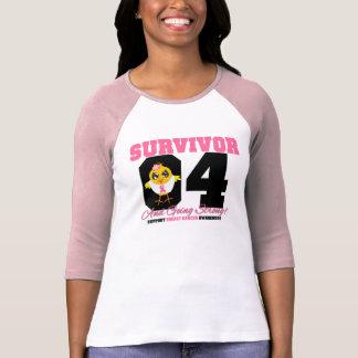 Breast Cancer Survivor Chick 04 Years T-Shirt