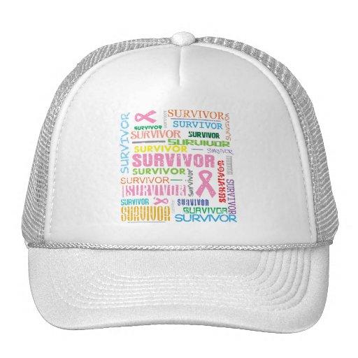 Breast Cancer Survivor Collage.png Hat