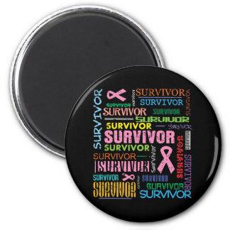 Breast Cancer Survivor Collage.png Magnets