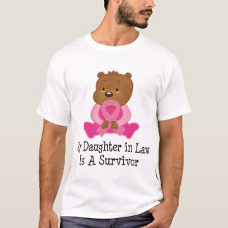 Breast Cancer Survivor Daughter in Law T-Shirt