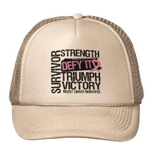 Breast Cancer Survivor Defy It Hat