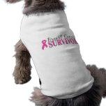 Breast Cancer Survivor Dog Tshirt