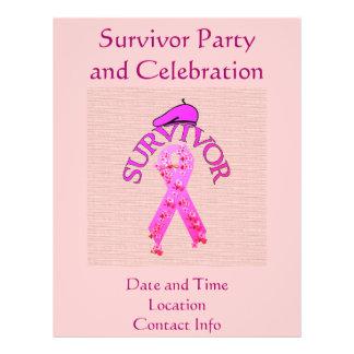Breast Cancer Survivor Flyer