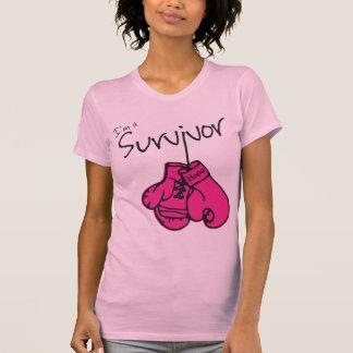 Breast Cancer Survivor Gloves T-Shirt