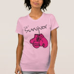 Breast Cancer Survivor Gloves Tee Shirts