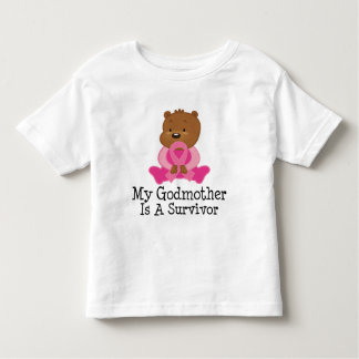 Breast Cancer Survivor Godmother Toddler T-shirt