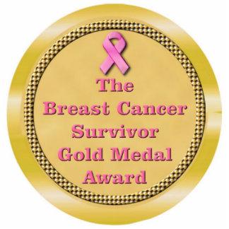 Breast Cancer Survivor Gold Medal Award Statuette