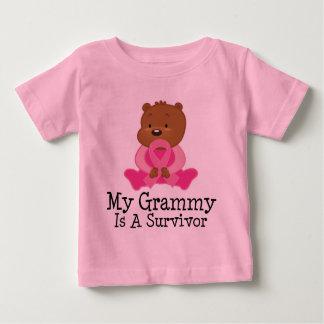 Breast Cancer Survivor Grammy Baby T-Shirt