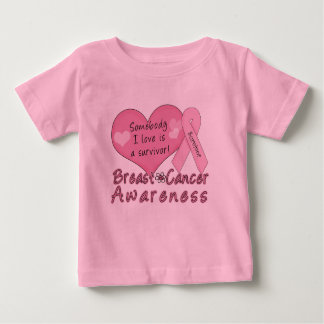 Breast Cancer Survivor Infant T-shirt
