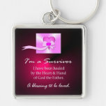 Breast Cancer Survivor Keychain
