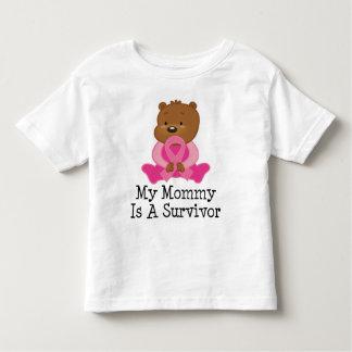 Breast Cancer Survivor Mommy Toddler T-shirt