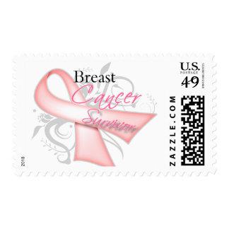 Breast Cancer Survivor Postage Stamp
