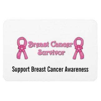 Breast Cancer Survivor Premium Magnet