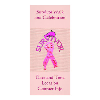 Breast Cancer Survivor Rack Card