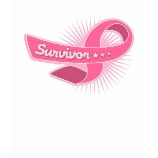Breast Cancer Survivor Ribbon shirt