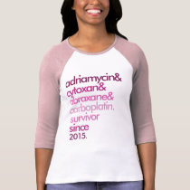Breast Cancer Survivor Shirt Customizable 2-Sided