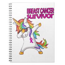 BREAST CANCER Survivor Stand-Fight-Win Notebook
