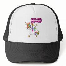BREAST CANCER Survivor Stand-Fight-Win Trucker Hat