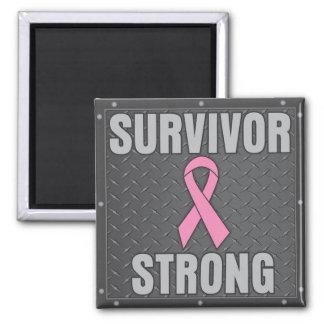 Breast Cancer Survivor Strong Fridge Magnet
