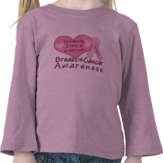 Breast Cancer Survivor Toddler Long Sleeve Tees